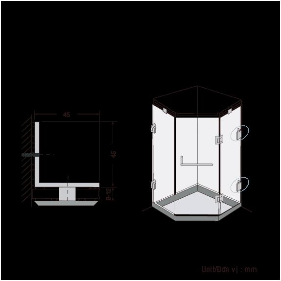 Kep-Kinh-Phong-Tam-BJ-803-US32, Bản Lề Sàn GMT, Bản Lề Sàn VVP, Bản LỀ Sàn Phòng Tắm Kính, Tay Nắm Cửa