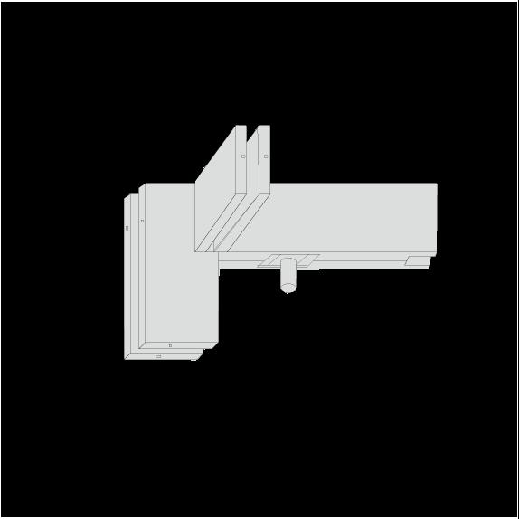 Kẹp chữ F GMT PFC-041 - BẢN LỀ SÀN - BẢN LỀ SÀN GMT - VÁCH NGĂN