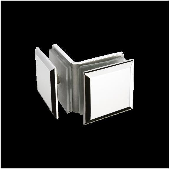Kẹp Kính Phòng Tắm  BJ-802-US32, bản lề sàn gmt, phụ kiện nhôm kính gmt, phụ kiện phòng tắm kính gmt,