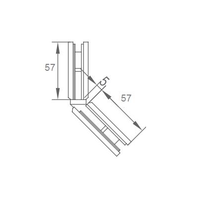 Bản lề phòng tắm VVP SW3041 135 độ