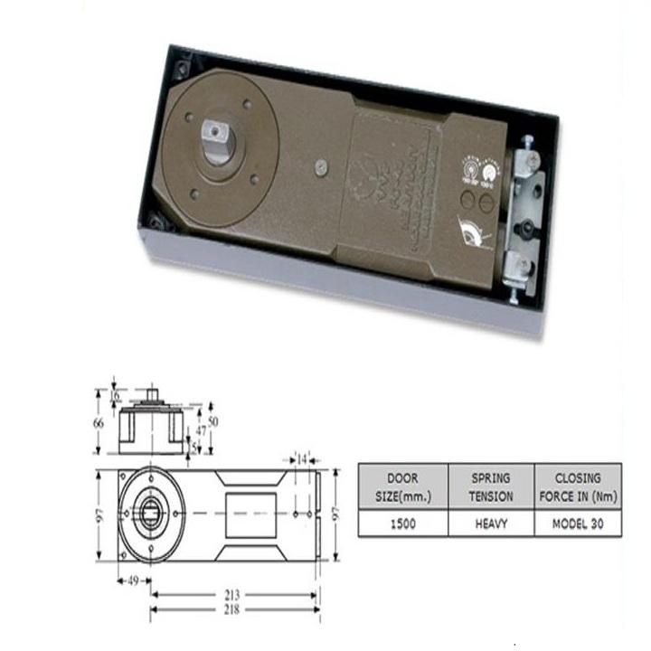 Bản lề sàn VVP FC49-30