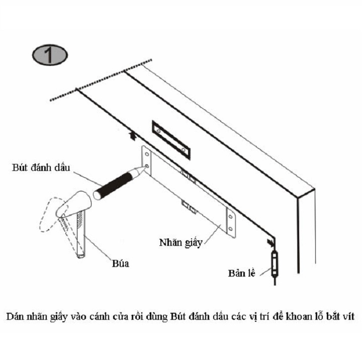 Cách lắp đặt tay co thủy lực