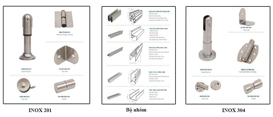phu-kien-vach-ngan-ve-sinh-compact-tpk, phụ kiện vách ngăn vệ sinh
