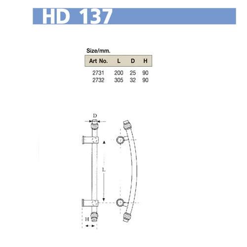 Tay nắm cửa VVP HD137