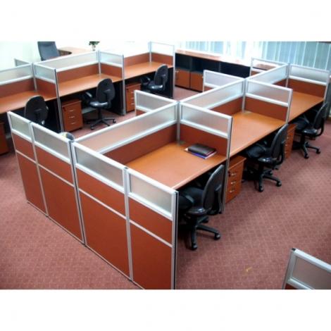 vách ngăn văn phòng hiện đại